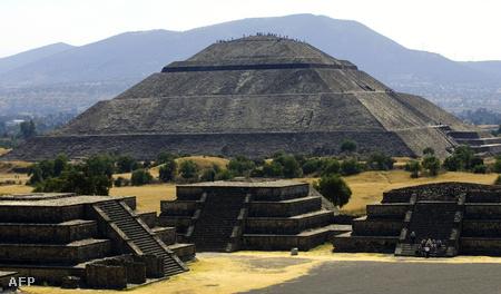 Teotihuacán romváros