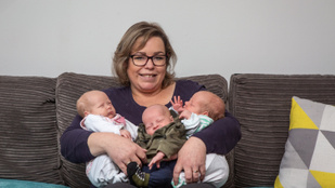 Egy hét alatt kétszer esett teherbe, és végül három gyereket szült