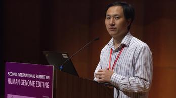 Egyre nagyobb bajban a babák génjeit módosító kínai kutató