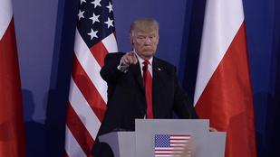 Trumpot és feleségét is jelölték idén az Aranymálnára