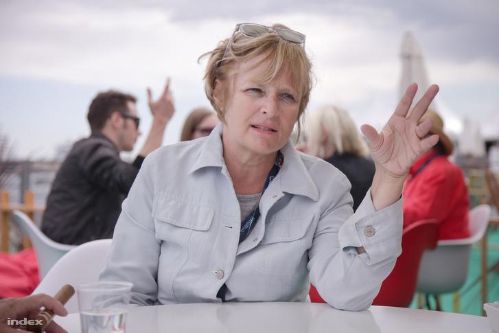 Havas Ágnes Cannes-ban 2015-ben