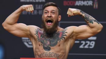 McGregor megint mindenkit meglepett