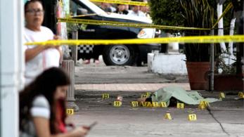 2018 gyilkossági rekordot hozott Mexikóban