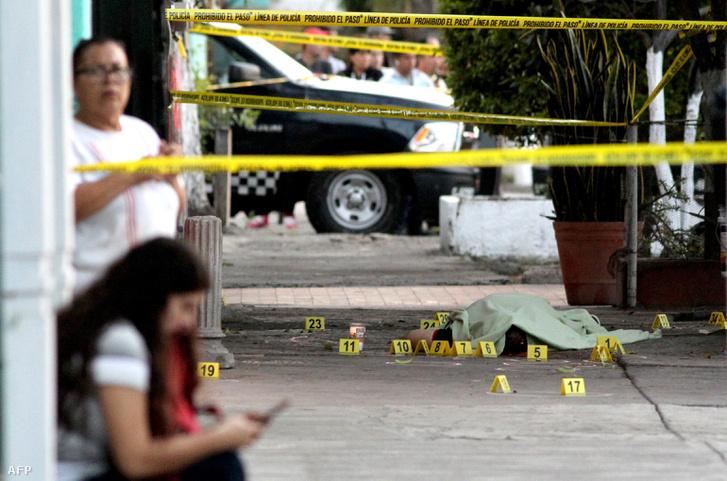 Utcai leszámolás áldozata Mexikóban