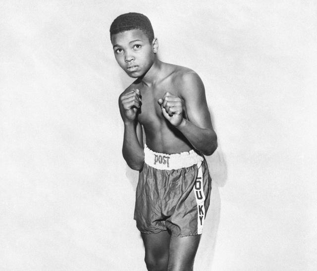 Cassius Clay, művésznevén Muhammad Ali 12 évesen