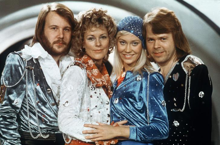 Az ABBA 1974-ben