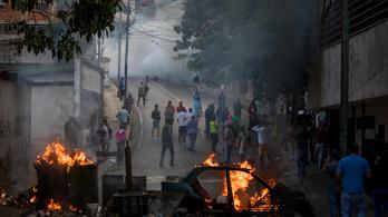 Kisebb katonai felkelés volt Venezuelában