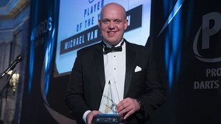 Semmi meglepő, Michael van Gerwen az Év Játékosa