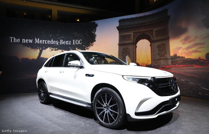 EQC SUV, a Mercedes-Benz teljesen elektromos hajtású autója