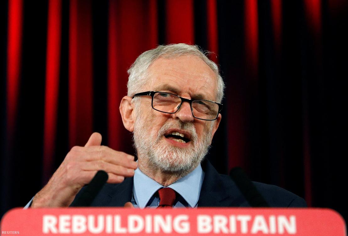 Jeremy Corbyn, a Labour vezetője