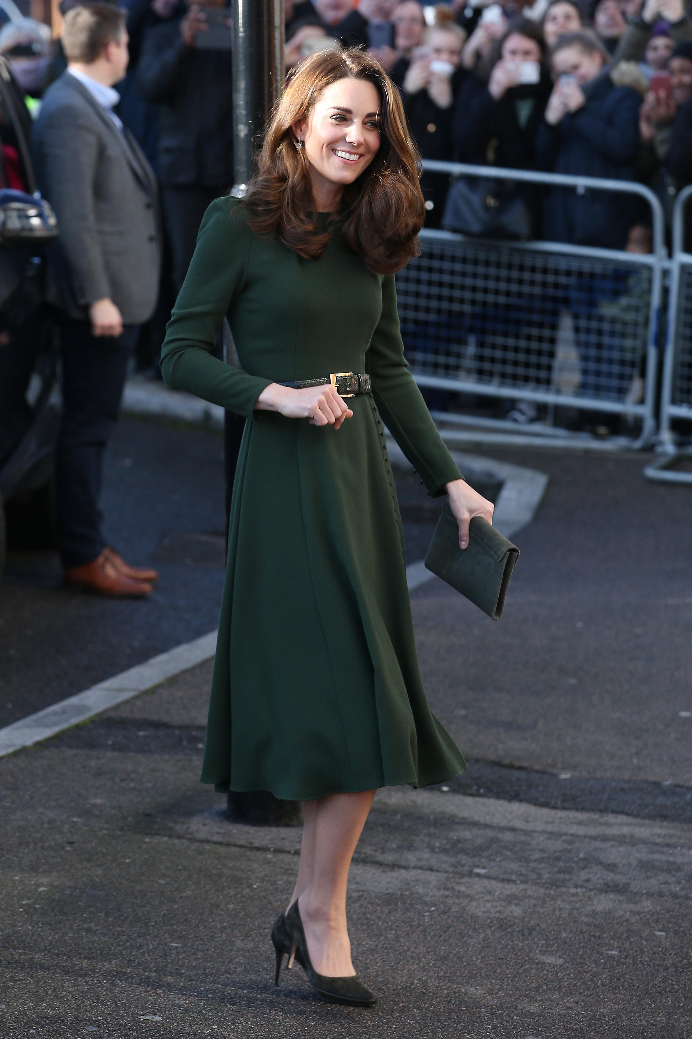 72ea738af7 Katalin hercegné méregzöld ruhában tündökölt - Fantasztikus alakját ...