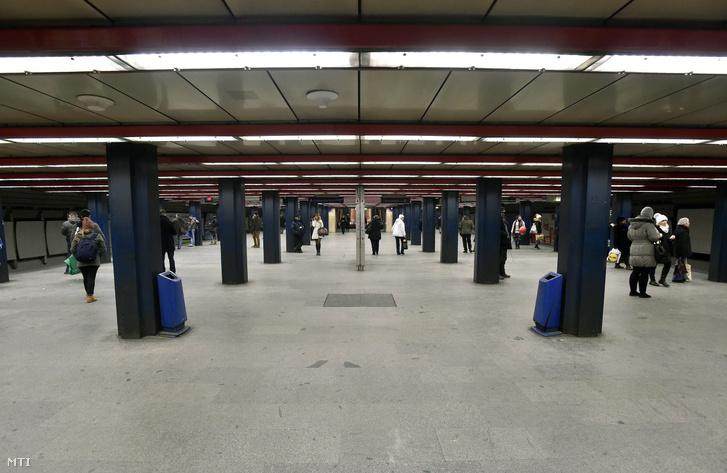 A 3-as metróvonal Nyugati pályaudvar állomása