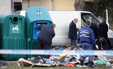 Egyelőre nem tudni, egyáltalán bűncselekményből származnak-e azok az emberi testrészek, amiket egy utcai szemétkupacban találtak a budapesti XVIII. kerületben, hétfőn délután