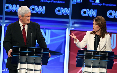 Newt Gingrich és Michele Bachmann