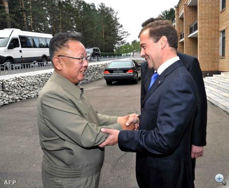 Dmitrij Medvegyevvel 2011-ben