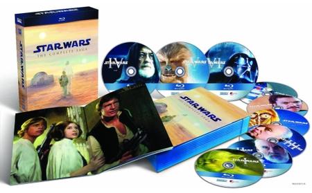 Star Wars Saga Blu-ray