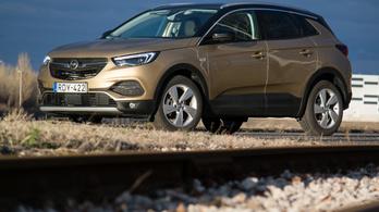 Teszt: Opel Grandland X 1.5D aut. - 2019.