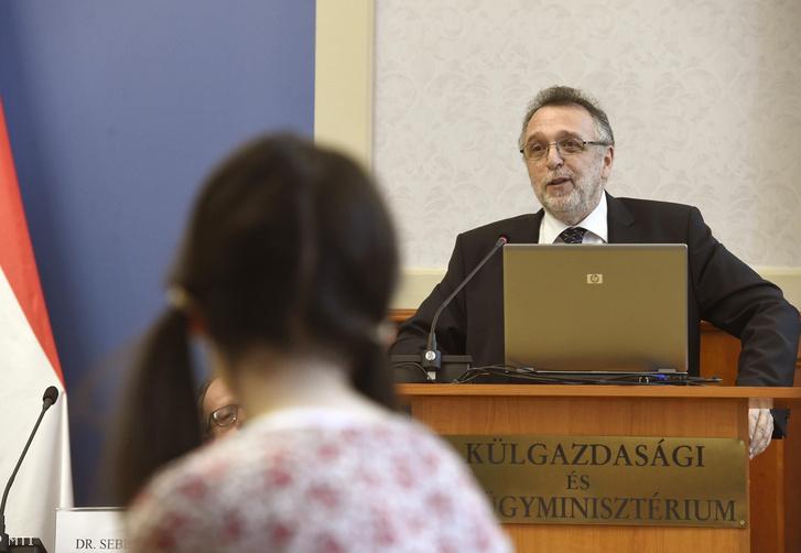 Heisler András, a Magyarországi Zsidó Hitközségek Szövetségének (Mazsihisz) elnöke
