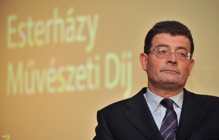 Ottrubay István, az Esterházy Magánalapítvány vezérigazgatója a Szépművészeti Múzeumban 2009. november 26-án