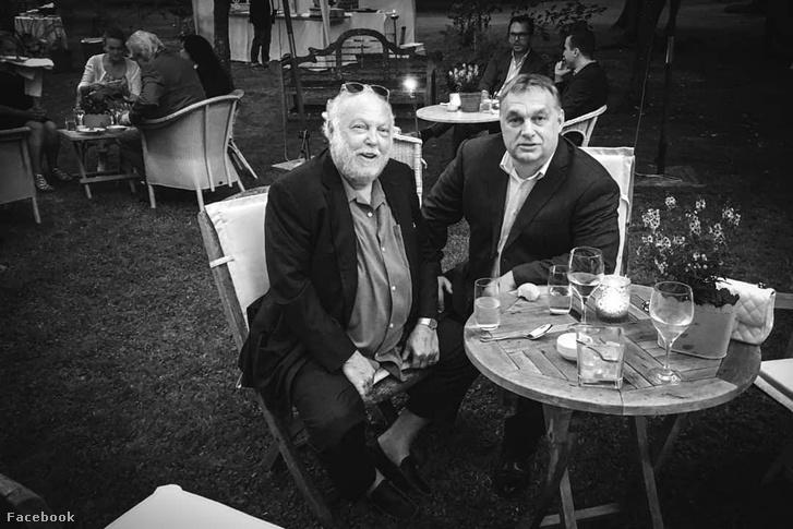 Andy Vajna and Viktor Orbán