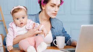 Kócos haj, leharcolt idegek: nem elég a nőknek a napi 24 óra