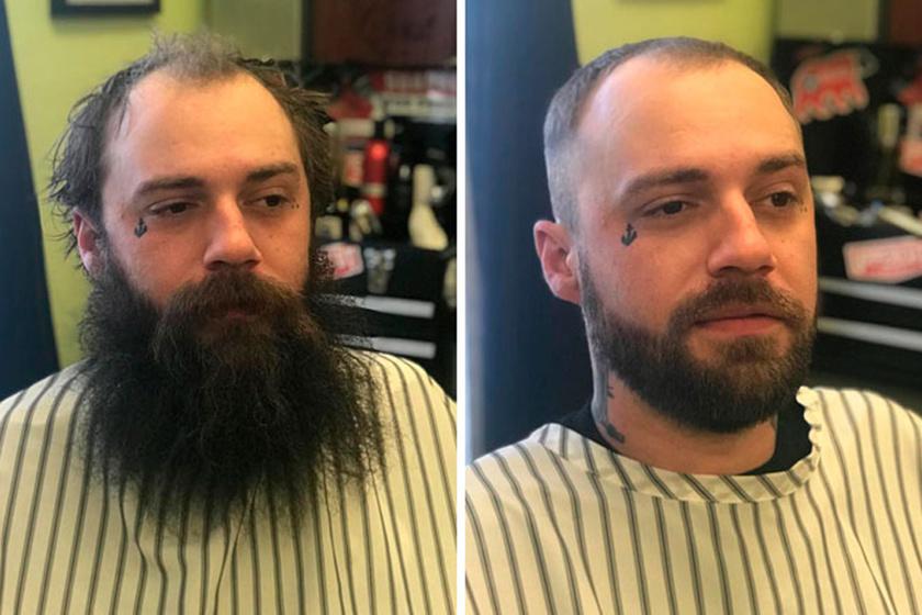 Egészen más karaktert ad a megjelenésnek egy előnyösen levágott frizura és egy ideális szakáll.