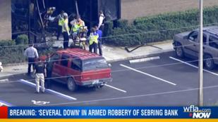 Túszdráma volt egy floridai bankban, több embert meglőttek