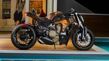 Naked motor készült a Panigale V4 blokkjával