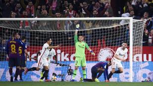 Valverde pihentetett, a Sevilla kihasználta