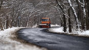 Ború, latyak, havazás