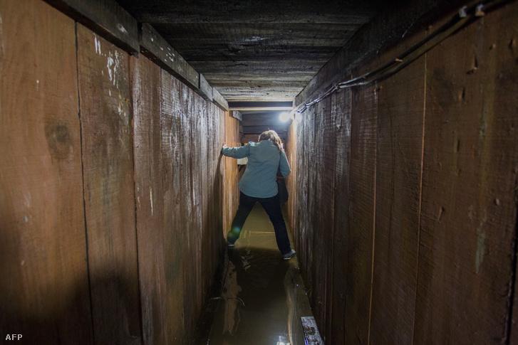 A szökéshez használt alagút