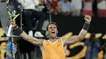 Nadal simán elintézte a Federert legyőző görögöt