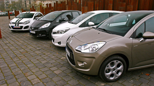 Citroën C3 1.4 VTi 95 Collection, Honda Jazz 1.4 Elegance, Kia Rio 1.4 EX Limited P1, Toyota Yaris 1.3 Executive