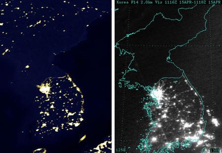 Észak-Korea 1994-ben és 2003-ban