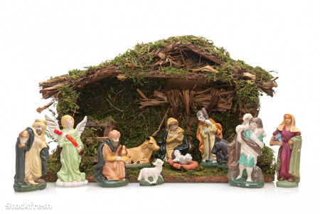 stockfresh 861004 christmas-crib sizeM