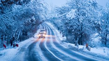 Szeles, havas időt hoz a péntek