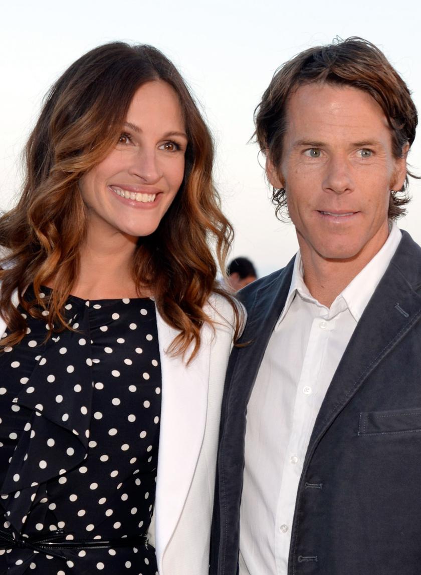 Julia Roberts és férje, Danny Moder 2002 óta élnek boldog házasságban.