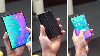 Három részre hajtható mobilt mutatott be a Xiaomi