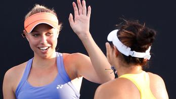 Nagy Adrienn junior párosban lett a Australian Open bajnoka