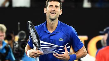 Djoković lesöpörte ellenfelét, Nadallal döntőzik
