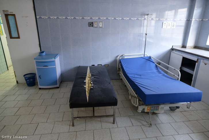 Szoba egy caracasi kórházban