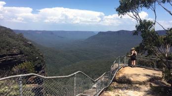 Dzsungeltúrán jártunk az ausztrál Kék-hegységben