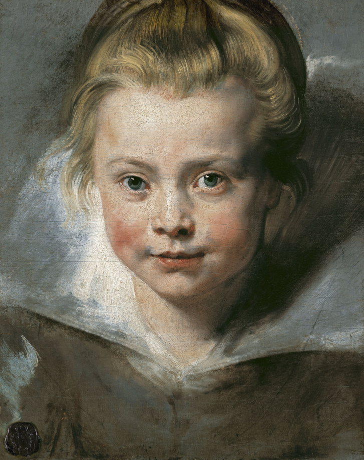Peter Paul Rubens: Calra Serena portréja