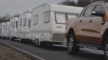 Húsz tonnát is elhúz a Ford Ranger