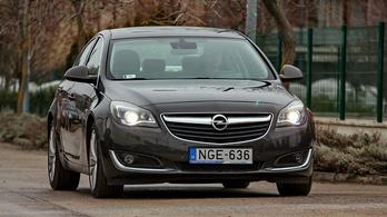 Használtteszt: Opel Insignia 2.0 CDTI EcoFlex Cosmo - 2015.