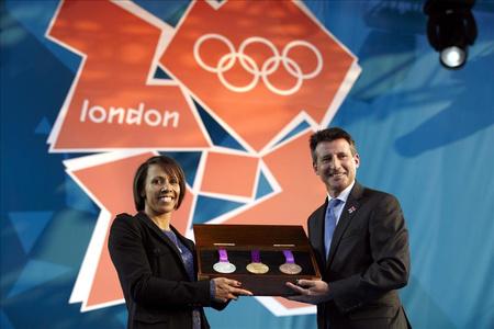 A 2012-es londoni olimpia érmei