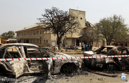 Nem sokkal később egy másik robbanás is történt Jos városának egyik templomában, legalább egy ember életét vesztette.