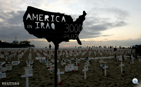 A háborúban 4500 amerikai katona vesztette életét.