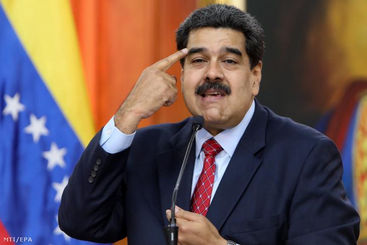 Maduro sajtóértekezletet tartott a caracasi Miraflores elnöki palotában 2019. január 25-én, két nappal azután, hogy Juan Guaidó, a venezuelai ellenzéki többségű parlament elnöke Venezuel ideiglenes elnökévé nyilvínototta magát a Maduro elleni tentetésen. Maduro bejelentette hogy kész találkozni politikai ellenfelével hogy párbeszédet kezdjen vele.