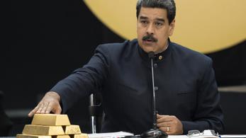 1,2 milliárd dollárnyi aranyat akart kivenni Maduro a Bank of Englandből, letiltották